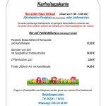 VfB: Absage Flammkuchenfest - Aber: Fischessen am Karfreitag
