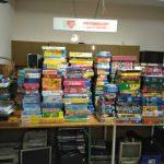 Bücher- und Spiele-Ecke der AWo Sandhausen wieder eingeschränkt geöffnet