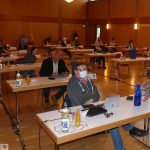 Leimener Ratssitzung mit Sicherheitsabstand - Ursula Baumann rückt nach