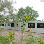 """Geschwister-Scholl-Schule St. Ilgen: Auf- und Ausbau der """"Container-Klassen"""" läuft"""