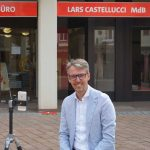 """""""Pizza & Politik digital"""" – Mdb Castellucci  diskutierte mit jungen Leuten"""