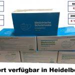 Mund-Nase-Schutzmasken ab sofort in Heidelberg und online verfügbar
