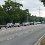 Freitag in Rohrbach-Süd: Sicherheit im Straßenverkehr - Großkontrollstelle der Polizei