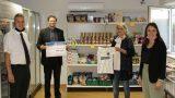 Tafelladen erhält Spende in 500 € von der Volksbank KraichgaueG aus SocialChallenge