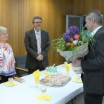 Gratulation: Hardtgruppe Wassermeister Hans–Peter Schilling 60 Jahre alt