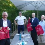 """Racket Center Nußloch: """"Talk am Teich"""" über Nachhaltigkeit bei Investments"""