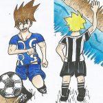 Fußball-Comic-Wettbewerb für GrundschülerInnen, die Fußball lieben