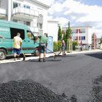 Letzte Asphaltdecke aufgebracht - Sanierung der Theodor-Heuss-Straße beendet