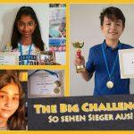 """Englisch-Wettbewerb trotzt Corona: Herausragende Leistungen bei """"The Big Challenge"""""""