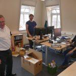 Ämter ziehen ins Historisches Leimener Rathaus zurück - Elektrosanierung abgeschlossen