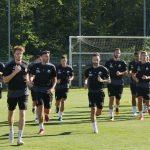 SV Sandhausen: Fussballer stehen wieder auf dem Trainingsplatz