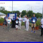 Clubabend beim Tennis-Club Blau-Weiß Leimen - Ehrung langjähriger Mitglieder