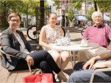 SPD Landtags-Kandidation Andrea Schröder-Ritzrau informiert sich vor Ort in Leimen