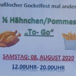 """Nußlocher Gockelfest mal anders: Mit Hähnchen """"To-Go"""""""