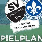 Die Saison beginnt mit dem Heimspiel gegen Darmstadt 98