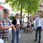 SPD Leimen: Auf ein Eis mit Lars Castellucci und Andrea Schröder-Ritzrau