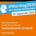 Bundesweiter Warntag am 10. September:  WarnApps haben sich bewährt