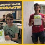 Jugendwettbewerb Informatik: Fr.-Ebert-Gymnasium im dritten Jahr dabei