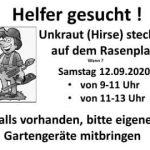 VfB News Ticker: Helfer gesucht - Stadionpflege am kommenden Samstag