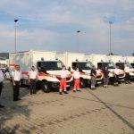Katastrophenschutz: Land übergibt zwei GW-BT 1-Fahrzeuge an das Landratsamt