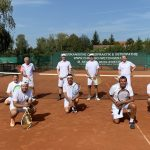 Spaßiges Retro-Turnier im Tennis-Club Leimen - Thomas Ehrnhöfer siegte erneut