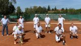 Spaßiges Retro-Turnier im Tennis-Club Leimen – Thomas Ehrnhöfer siegte erneut