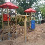 Bauarbeiten im Kath. Kindergarten St. Georg – Spielgeräte werden ersetzt