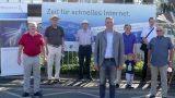 Internet-Glasfaser-Ausbau im Gewerbegebiet Leimen-St. Ilgen-Süd