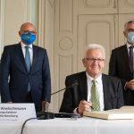 Ministerpräsident Winfried Kretschmann zu Gast im Rhein-Neckar-Kreis