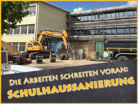 Fr.-Ebert-Gymnasium: Sanierung schreitet voran – Auch digital mit neuer Homepage