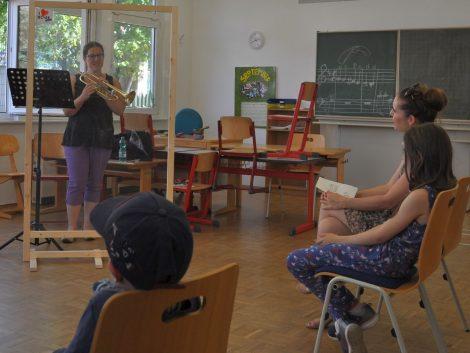 Erfolgreicher Tag der Instrumente bei der Leimener Musikschule