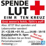 Herbst-Blutspenden in St. Ilgen – Spender dringend gesucht  – bitte mit Anmeldung