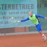 """TC Blau-Weiß Leimen: Uwe Laffter gewann die """"Leimen-Liga"""""""