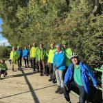 Mit Grünen Landtagskandidaten auf der Leimbachroute per Fahrrad unterwegs