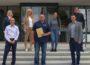 Gratulation an Klaus Neuert für 25 Jahre im Dienste der Gemeinde Nußloch
