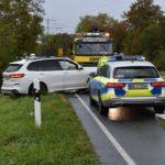 Frontalzusammenstoß auf B 3 – ein Fahrer leicht verletzt – Sachschaden ca. 50.000 Euro