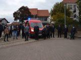 Neuer Mannschafts-Transport-Wagen für die freiwillige Feuerwehr Nußloch