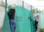 Tennis-Club Blau-Weiß versetzt Außenplätze und Gelände in Winterschlaf