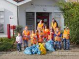 Putztag: Comenius-Kindergarten kümmerte sich um Feldwege