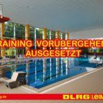 DLRG-Training vorübergehend ausgesetzt