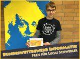 Informatik-Auszeichnung für Lucas Schwebler vom Friedrich-Ebert-Gymnasium Sandhausen