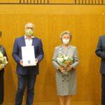 Sandhäuser Gemeinderat: Am Ende der Sitzung hohe Ehrungen und ein Verzicht