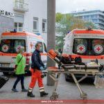 Umzug der Chirurgischen Universitätsklinik in Heidelberg mit dem DRK Leimen