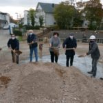 1. Spatenstich für Erweiterungsgebäude der Geschwister-Scholl-Schule erfolgt