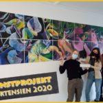 Ein Kunstprojekt in Zeiten von Corona - Abschlussarbeit Neigungskurs am FEG
