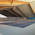 Unsinnige Corona-VO-Regelung: </br>1800qm-Halle zu klein für 6 Tennnisspieler?