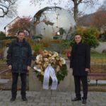 Ohne öffentliche Veranstaltung: Kranzniederlegung zum Volkstrauertag in Nußloch