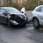 Leimen: Unfall auf Kreuzung - eine Fahrerin leicht verletzt - Sachschaden ca. 30.000 Euro