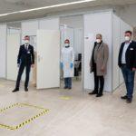 Zentrales Kreis-Impfzentrum auf Patrick-Henry-Village in Heidelberg betriebsbereit