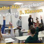 Mathe-AG für die 5. Klassen des Friedrich-Ebert-Gymnasiums